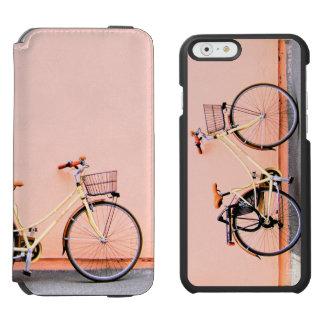 Coque-portefeuille iPhone 6 Incipio Watson™ Roue de la bicyclette deux de panier de vélo de