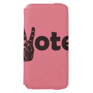Coque-portefeuille iPhone 6 Incipio Watson™ Vote d'illustration pour la paix