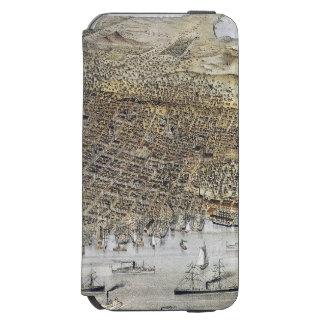 Coque-portefeuille iPhone 6 Incipio Watson™ Vue de San Francisco, 1878
