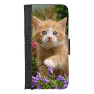 Coque Portefeuille Pour iPhone 8/7 Animal familier mignon de chaton de chat de bébé