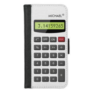 Coque Portefeuille Pour iPhone 8/7 Calculatrice fraîche d'amusement - chiffres de
