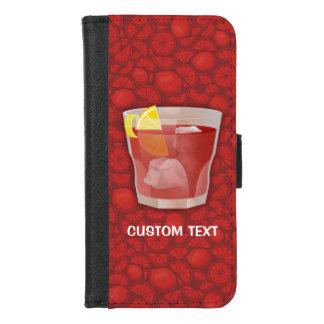 Coque Portefeuille Pour iPhone 8/7 Cocktail d'Americano