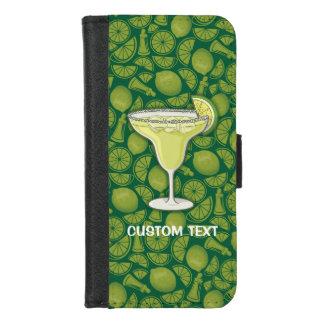 Coque Portefeuille Pour iPhone 8/7 Cocktail de margarita
