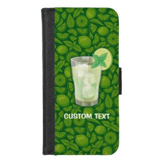 Coque Portefeuille Pour iPhone 8/7 Cocktail de Mojito