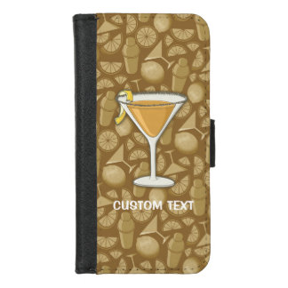 Coque Portefeuille Pour iPhone 8/7 Cocktail de sidecar