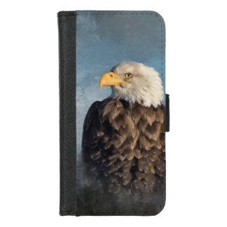 Coque Portefeuille Pour iPhone 8/7 Eagle chauve
