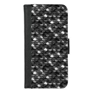 Coque Portefeuille Pour iPhone 8/7 Échelles de sirène de Falln