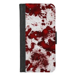 Coque Portefeuille Pour iPhone 8/7 Éclaboussure de sang de Falln