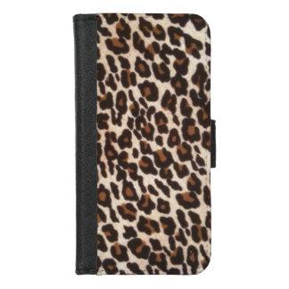 Coque Portefeuille Pour iPhone 8/7 Empreinte de léopard sauvage