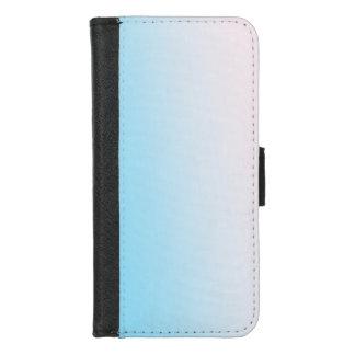 Coque Portefeuille Pour iPhone 8/7 Gradient bleu et blanc