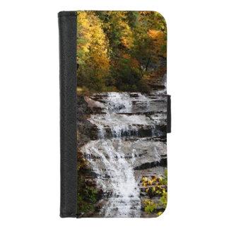 Coque Portefeuille Pour iPhone 8/7 iPhone de cascade d'automne 8/7 caisse de
