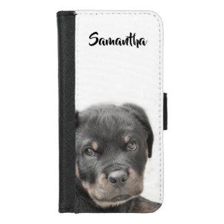 Coque Portefeuille Pour iPhone 8/7 iPhone de chiot de rottweiler 7/8 caisse de