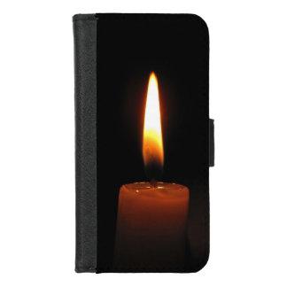 Coque Portefeuille Pour iPhone 8/7 iPhone de flamme de bougie 8/7 caisse de