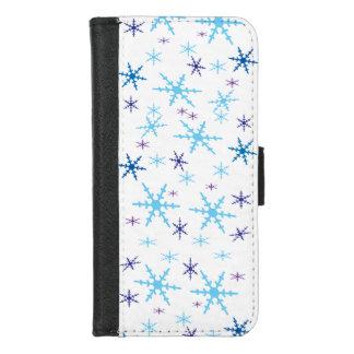 Coque Portefeuille Pour iPhone 8/7 iPhone de flocons de neige 8/7 caisse de