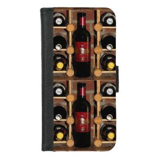 Coque Portefeuille Pour iPhone 8/7 iPhone de support de vin 8/7 caisse de