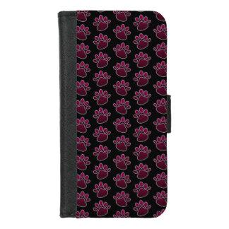 Coque Portefeuille Pour iPhone 8/7 iPhone d'empreinte de patte 8/7 caisse de