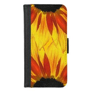 Coque Portefeuille Pour iPhone 8/7 iPhone jaune d'abrégé sur tournesol 8/7 caisse de