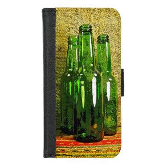 Coque Portefeuille Pour iPhone 8/7 iPhone vert de bouteilles à bière 8/7 caisse de