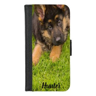 Coque Portefeuille Pour iPhone 8/7 Le chien ajoutent votre photo et l'appellent