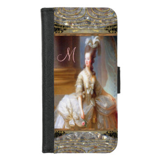 Coque Portefeuille Pour iPhone 8/7 Marie ou insèrent votre propre monogramme d'image