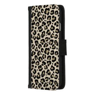 Coque Portefeuille Pour iPhone 8/7 Motif de poster de animal de léopard