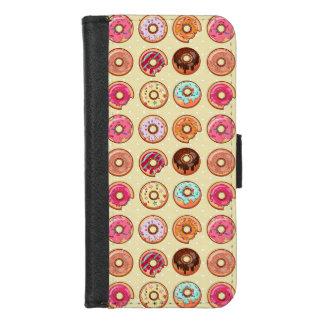 Coque Portefeuille Pour iPhone 8/7 Motif mignon de beignet