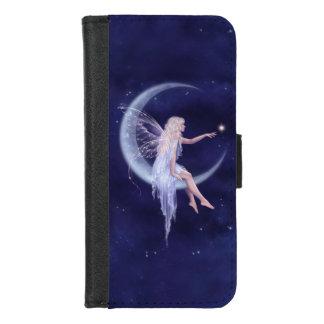 Coque Portefeuille Pour iPhone 8/7 Naissance d'une fée de lune d'étoile