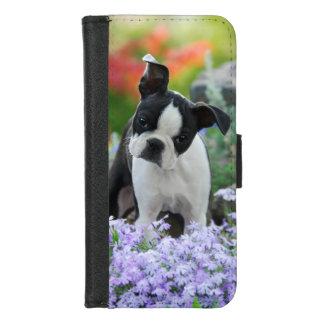 Coque Portefeuille Pour iPhone 8/7 Photo principale animale de chiot mignon de chien