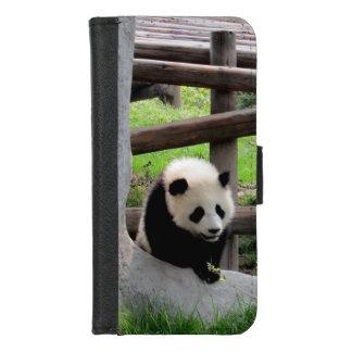 Coque Portefeuille Pour iPhone 8/7 Photographie de panda