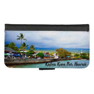 Coque Portefeuille Pour iPhone 8/7 Pilier Hawaï de Kailua Kona
