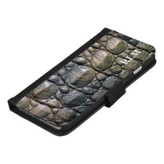 Coque Portefeuille Pour iPhone 8/7 Plus Alligator de monogramme