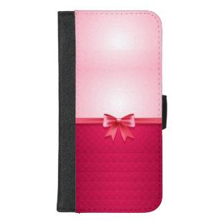 Coque Portefeuille Pour iPhone 8/7 Plus Assez dans le rose