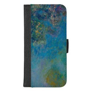 Coque Portefeuille Pour iPhone 8/7 Plus Beaux-arts GalleryHD floral de glycines de Claude