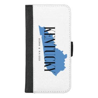 Coque Portefeuille Pour iPhone 8/7 Plus Cas soutenu et élevé du Kentucky d'iPhone de