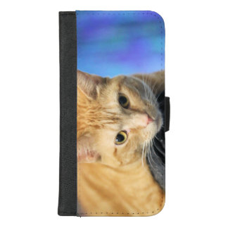 Coque Portefeuille Pour iPhone 8/7 Plus Caturday
