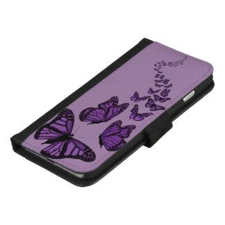 Coque Portefeuille Pour iPhone 8/7 Plus CHOISISSEZ le papillon de COULEUR