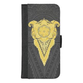 Coque Portefeuille Pour iPhone 8/7 Plus Épée des fleurs, tarot, spiritualité, newage