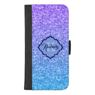 Coque Portefeuille Pour iPhone 8/7 Plus Étincelles colorées modernes de parties