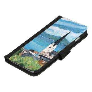 Coque Portefeuille Pour iPhone 8/7 Plus Hallstatt - iPhone 8/7 plus