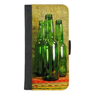 Coque Portefeuille Pour iPhone 8/7 Plus iPhone de bouteilles à bière 8/7 caisse plus de