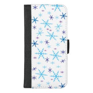 Coque Portefeuille Pour iPhone 8/7 Plus iPhone de flocons de neige 8/7 caisse plus de