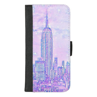 Coque Portefeuille Pour iPhone 8/7 Plus iPhone de la vie de ville 8/7 caisse plus de