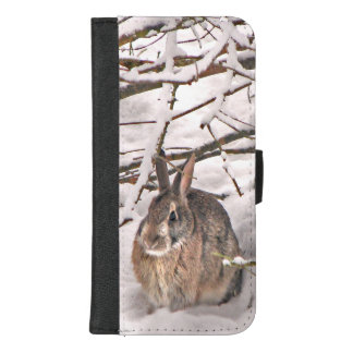 Coque Portefeuille Pour iPhone 8/7 Plus iPhone de lapin de Brown 8/7 caisse plus de
