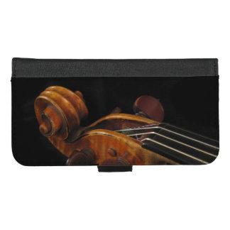 Coque Portefeuille Pour iPhone 8/7 Plus iPhone de musique de rouleau de violon 8/7 caisse