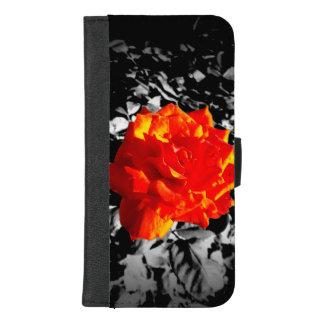 Coque Portefeuille Pour iPhone 8/7 Plus iPhone de rose rouge 8/7 caisse plus de