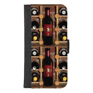 Coque Portefeuille Pour iPhone 8/7 Plus iPhone de support de vin 8/7 caisse plus de