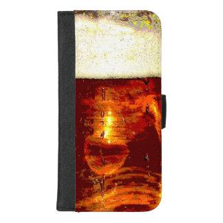 Coque Portefeuille Pour iPhone 8/7 Plus iPhone mousseux de bière 8/7 caisse plus de