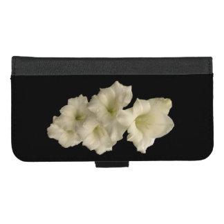 Coque Portefeuille Pour iPhone 8/7 Plus iPhone noir blanc de Gladiola 8/7 caisse plus de