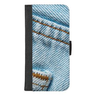 Coque Portefeuille Pour iPhone 8/7 Plus Le favori s'est fané les blues-jean confortables