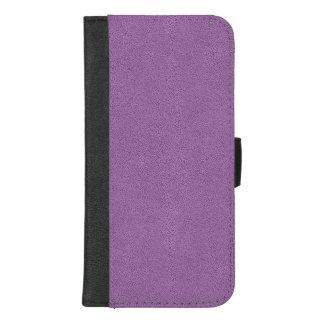 Coque Portefeuille Pour iPhone 8/7 Plus Le regard du suède lilas confortablement français